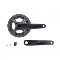 Crankset E-bike Delta 170mm 38T GXP 4Arm w/Bashguard Black