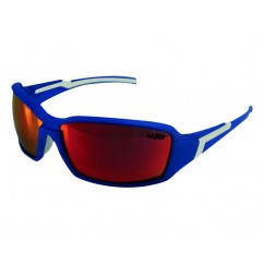 Okulary LAZER XENON Matte Blue (Smoke-Black Red REVO)