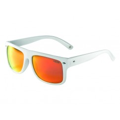 Okulary LAZER WAYMAKER 1 Glossy White (Smoke-Black Red REVO)