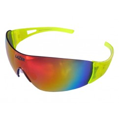 Okulary LAZER MAGNETO Flash Yellow (Smoke-Black Red REVO, Yellow, Clear)
