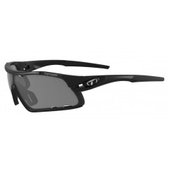 Okulary TIFOSI DAVOS matte black (3szkła 15,4% Smoke, 41,4% AC Red, 95,6% Clear) (NEW)