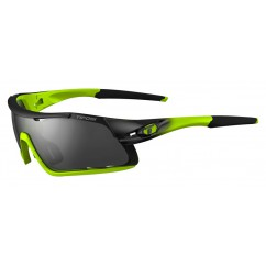 Okulary TIFOSI DAVOS race neon (3szkła 15,4% Smoke, 41,4% AC Red, 95,6% Clear) (NEW)