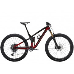 Rower Trek Fuel EX 9.9 2021 XO1 S 29 Raw Carbon/Rage Red