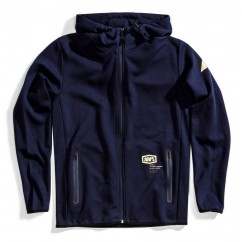 Bluza męska 100% VICEROY Hooded Zip Tech Fleece Navy
