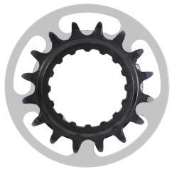 Chainring Trek-Diamant Bosch Gen2 16T Thick-Thin Steel Black