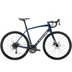 Domane AL 2 Disc 54 Gloss Mulsanne Blue/Matte Trek Black