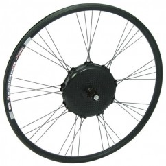 Wheel Rear RIDE+ Cassette 700C Airtec3 Disc Brake All Black