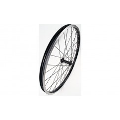 Wheel Front 24in FM21/J20C Rim Brake 32h QR Black/Black