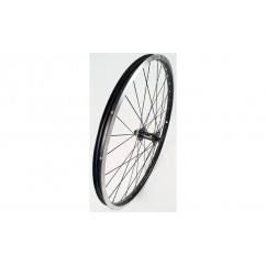 Wheel Front 24in RM35/J20C Disc Brake 32h QR Black/Black