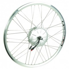 Wheel Front RIDE+ Motor 650C Airtec3 V-Brake Silver