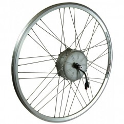 Wheel Front RIDE+ Motor 700c Air3 Rollerbrake Silver