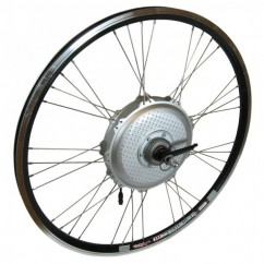 Wheel Rear RIDE+ 650C Airtec3 3x4 Internal Gear Hub BK/SL/SL