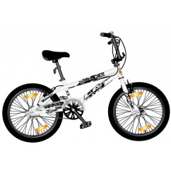 BMX Monz Double X 20 Freestyle Allround bialy