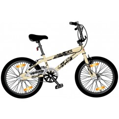 BMX Monz Double X 20 Freestyle Allround kremowy