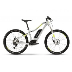 Rower Haibike SDURO HardSeven Life 4.0 500Wh 10B Deore 19 HB BCXP srebrny/bialy/lime roz. XS