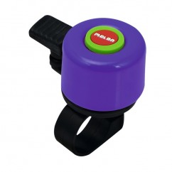 Mini dzwonek Melon Bellinos Ø35mm Rainbow Purple 10 tka Dsiplay
